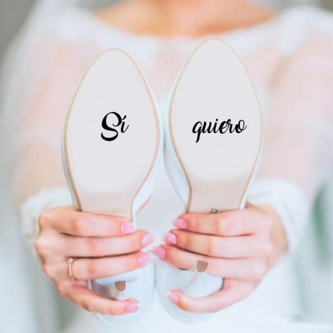 Pack Vinilos zapatos novios