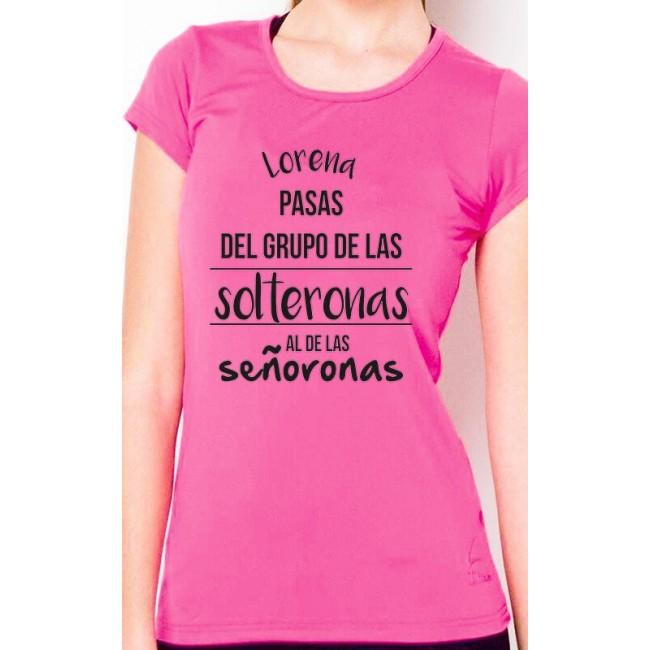 Camiseta solteronas