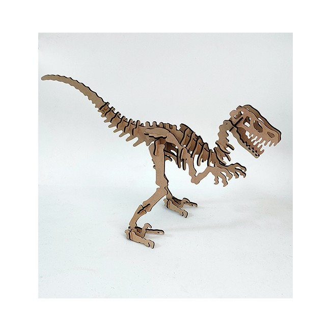 Puzzle 3d Velociraptor