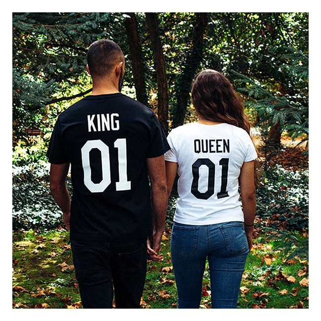 Pack Camisetas King & Queen