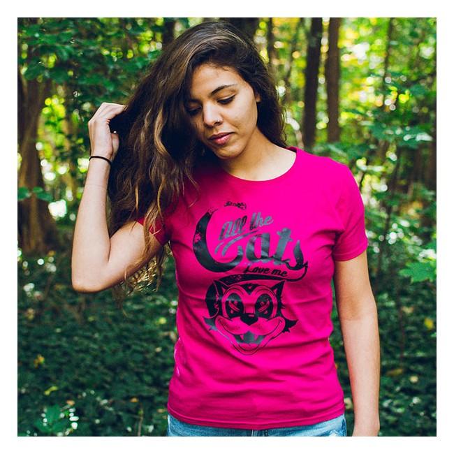 Camiseta Love cats