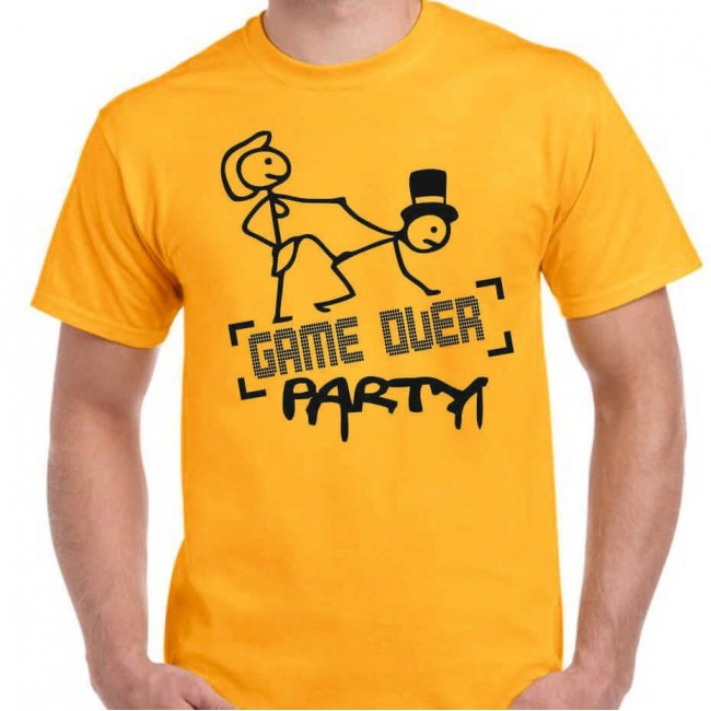 Camiseta Game Over