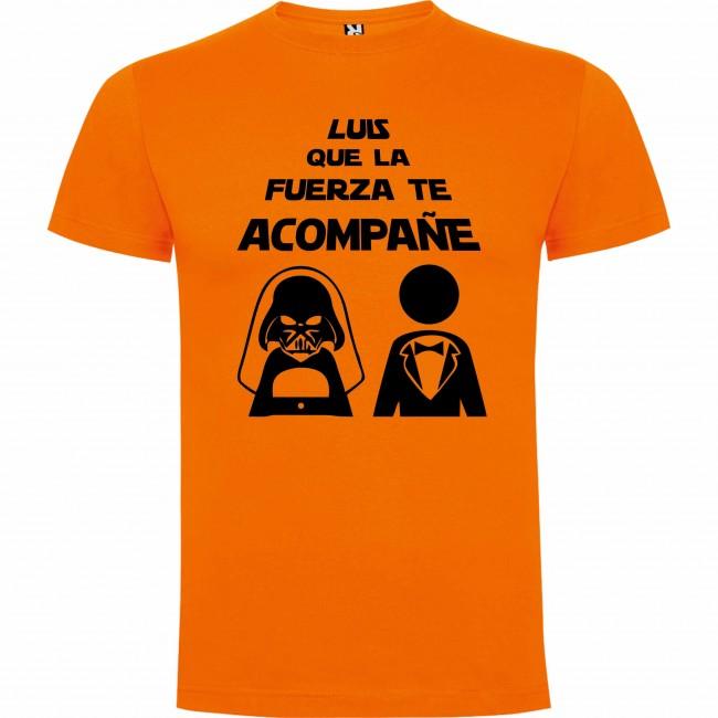 Camiseta que la fuerza te acompañe