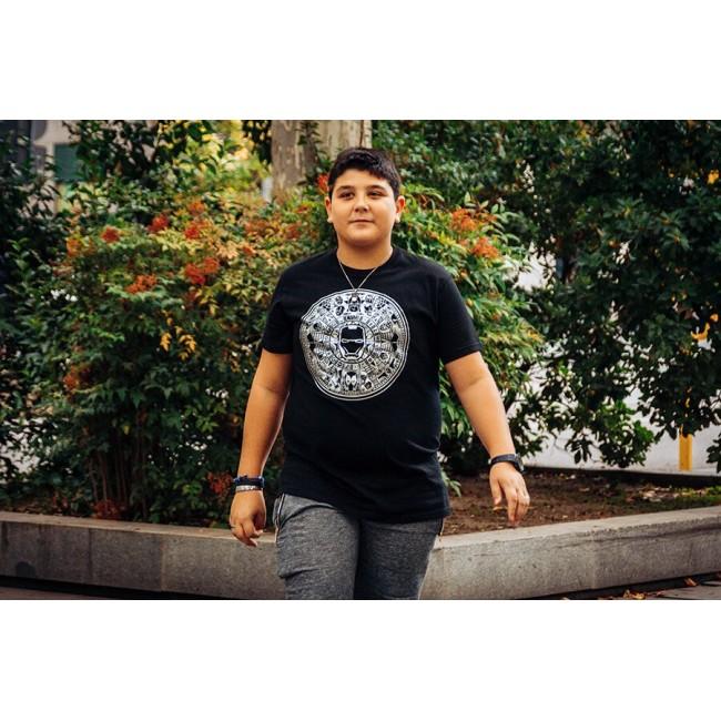 Camiseta Azteca Superheroes